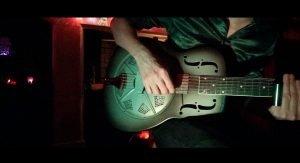 Chris Harper's resonator guitar 'Vixen'